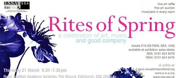 Rites of Spring Event