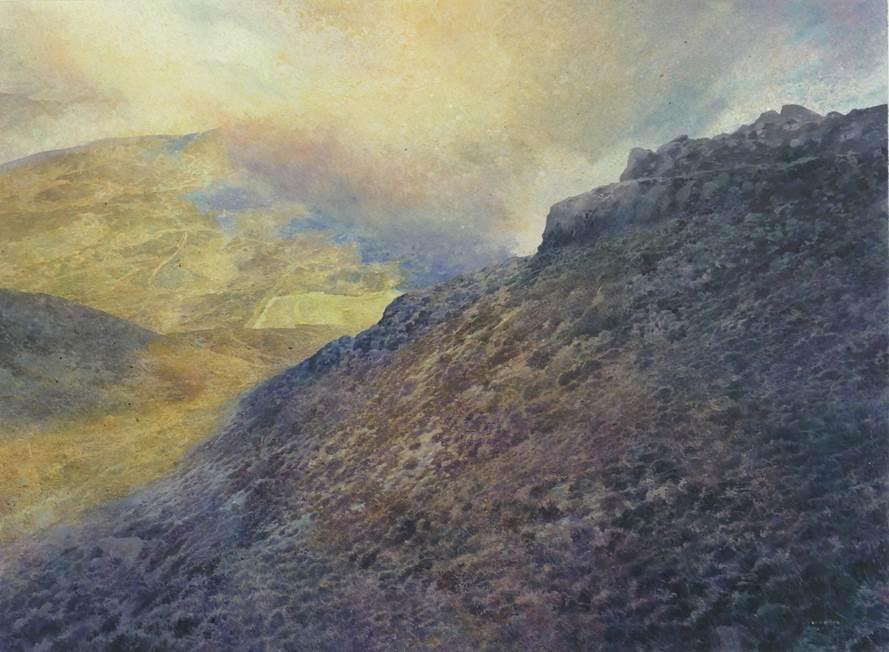 And he was king of the golden mountain (Ben Vrackie) David Forster RSW