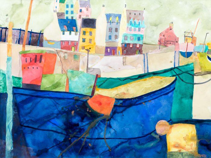 The Promenade, Clyde Coast - David Smith RSW